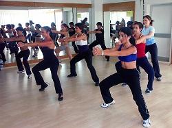 Занятия ритмической гимнастикой