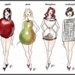 Формы женской фигуры