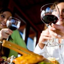 Употребление алкоголя при диете