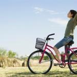 Велосипедная езда в Adidas