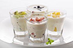 Молочный йогурт